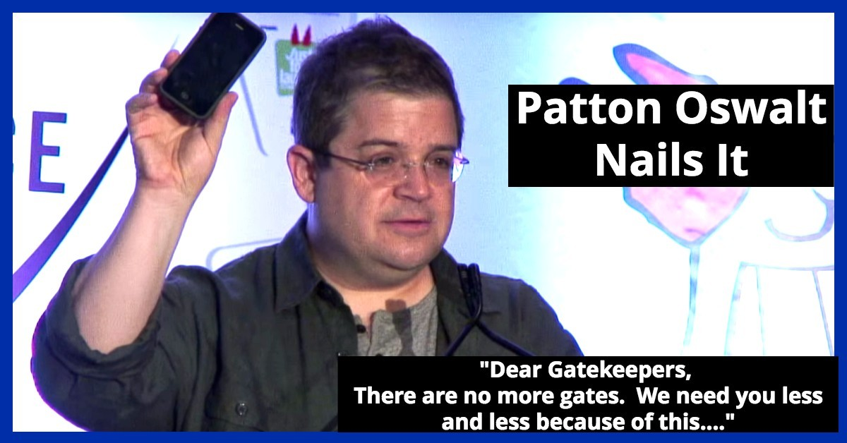 Acting Career - A Must Watch for Actors - Patton Oswalt Nails It