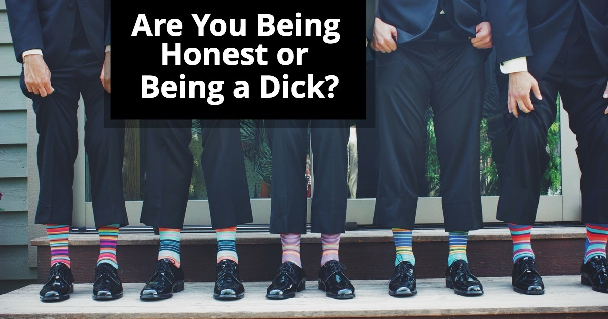 The Acting Critique - Are You Being Honest or Being a Dick?