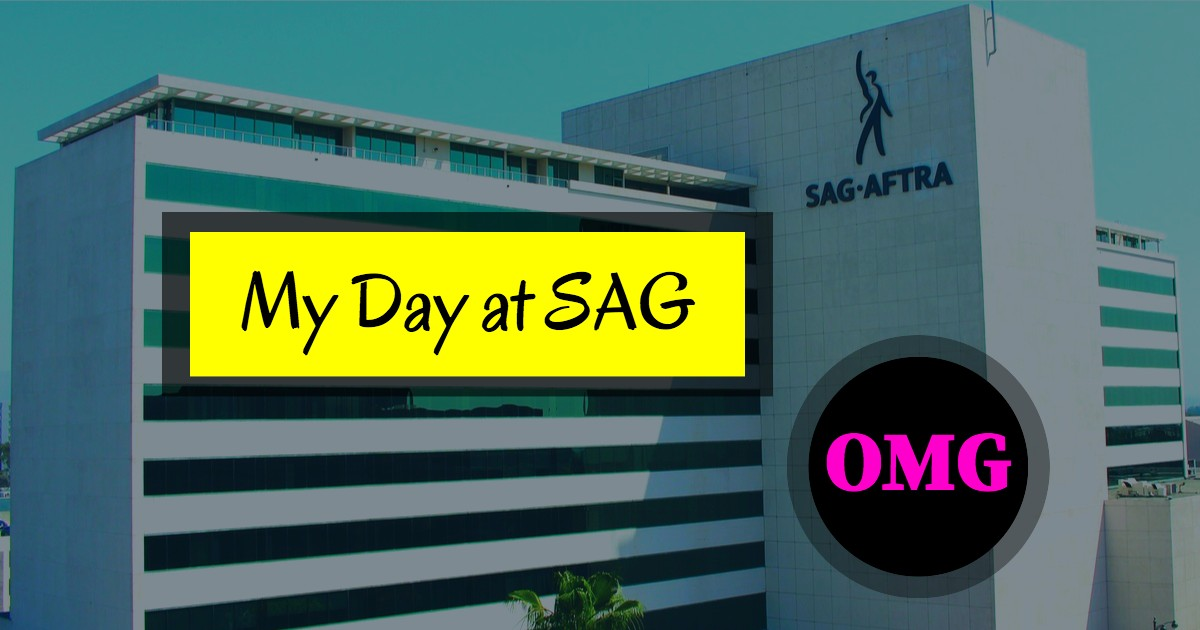 SAG Rule One & My Day at SAG | Beverly Hills Playhouse
