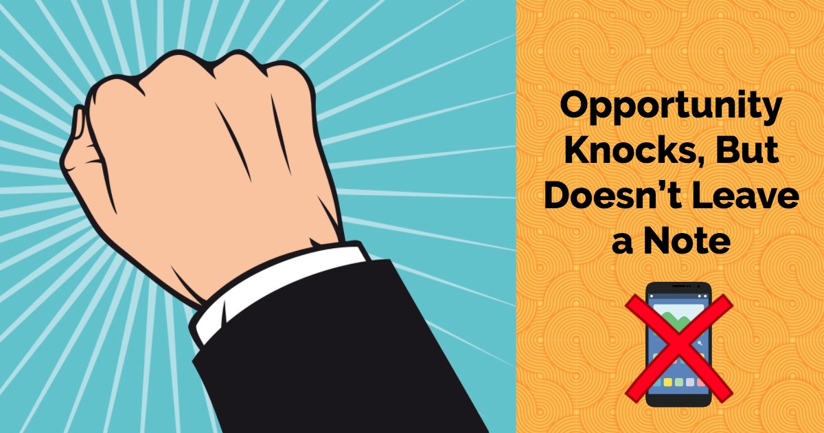 What Makes A Good Actor: Opportunity Knocks - Beverly Hills Playhouse